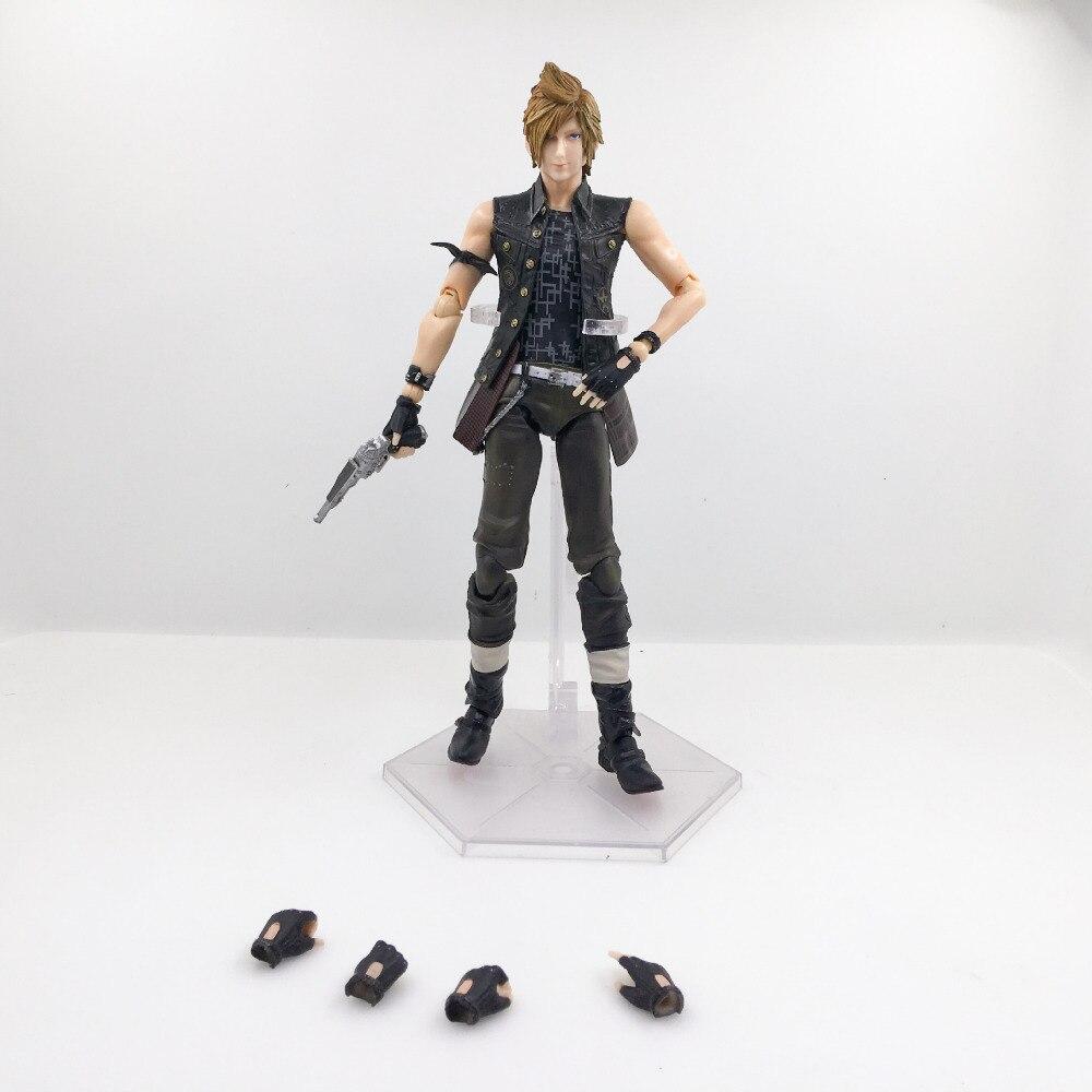 HKXZM figurine de jeu 25 CM Final fantaisie XV Prompto Argentum PVC figurine à collectionner modèle jouet