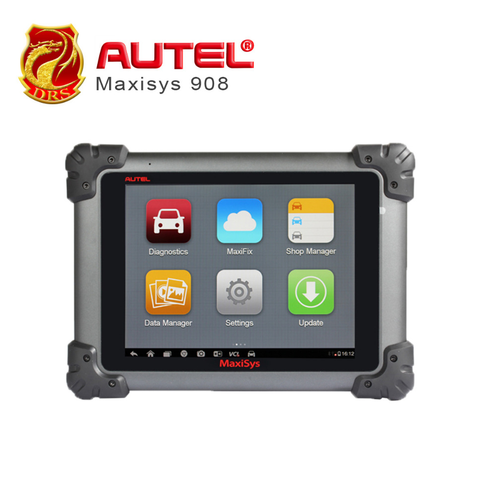 Autel Maxisys MS908 Diagnostic Tool WIFI / BT Automotive Scanner Android Analysis System with Advanced Coding Free Online Update