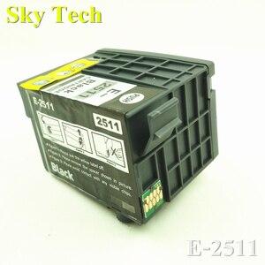 Um BK Pigmento Compatível Cartucho de Tinta Para E-2511  T2511 Para Epson WorkForce WF-M1561