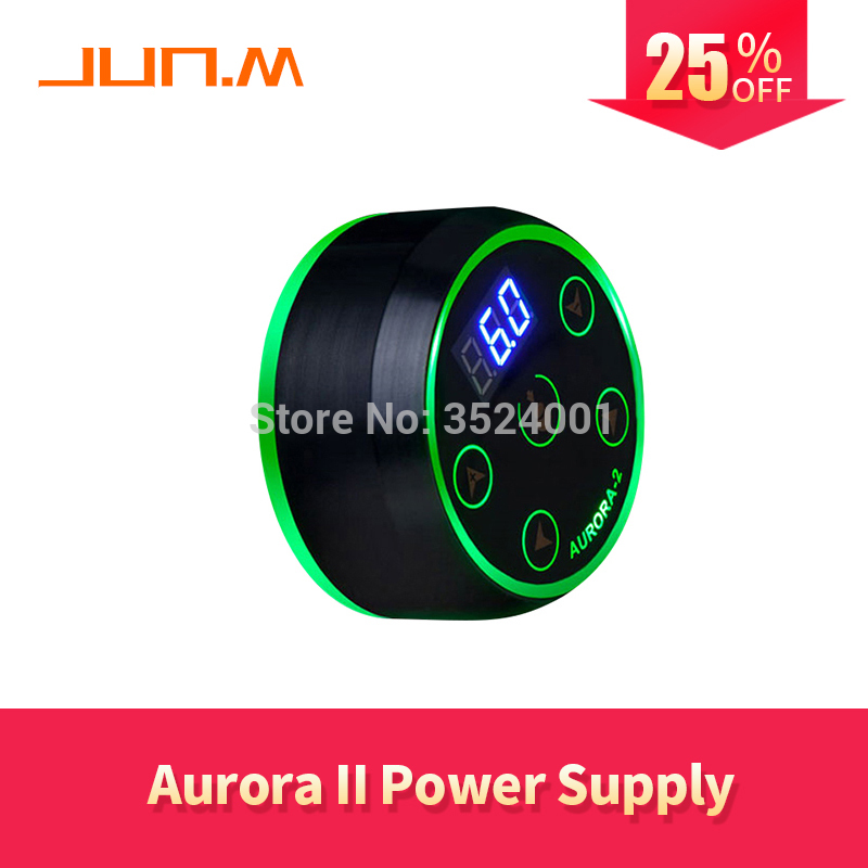 2019 New Professional Mini Critical AURORA LCD Tattoo Power Supply Adaptor for Coil Rotary Tattoo Machines