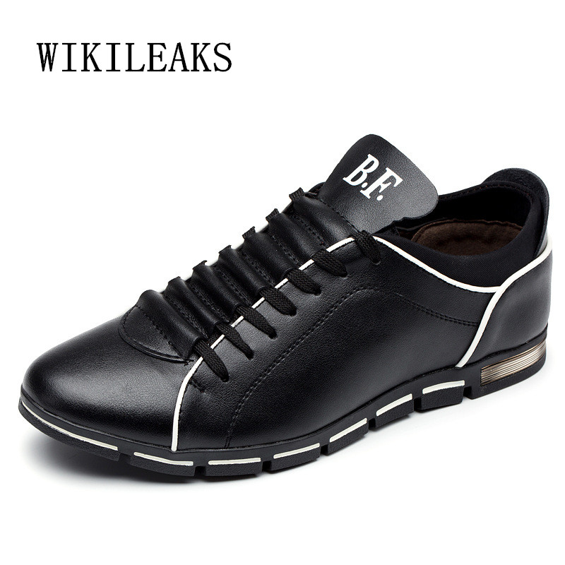 2018 new men shoes super large size leather shoes men italian zapatos hombre casual sneakers chaussure homme breathable sapatos spring ultra light mens shoes men casual leather mans footwear zapatos hombre presto lace up breathable air chaussure homme 95