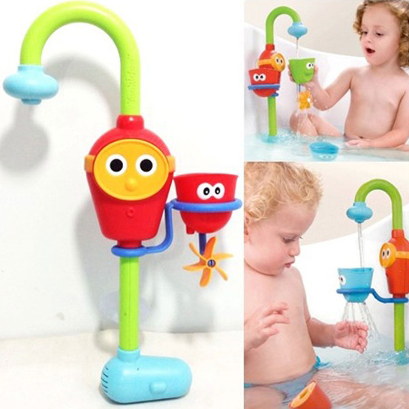 Lovely Too Baby Bath Toys Baby Children Non Toxic Bathing Toys Spray Bathingroom Shower Accessories Waterproof in Tub