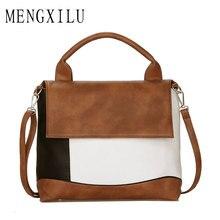 MENGXILU 2019 Crossbody Bags For Women Bags Handbags Women Famous Brand High Quality Leather Bag Ladies Bolsa Casual Totes Bag
