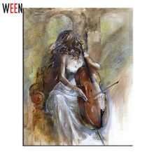 Oil Painting 40x50cm Canvas Paintings Coloring By Numbers Diy Digital Decorative Pictures Pintura Wall Art