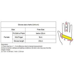 Image 5 - Ipek eldiven 23cm doğal ipekböceği ipek elastik güneş koruyucu güzellik kısa stil kadın siyah dokunmatik gelin eldiven WZS02