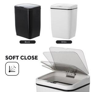 Image 5 - Capteur de mouvement à induction Intelligent sans contact automatique poubelle de cuisine capteur douverture large poubelle écologique