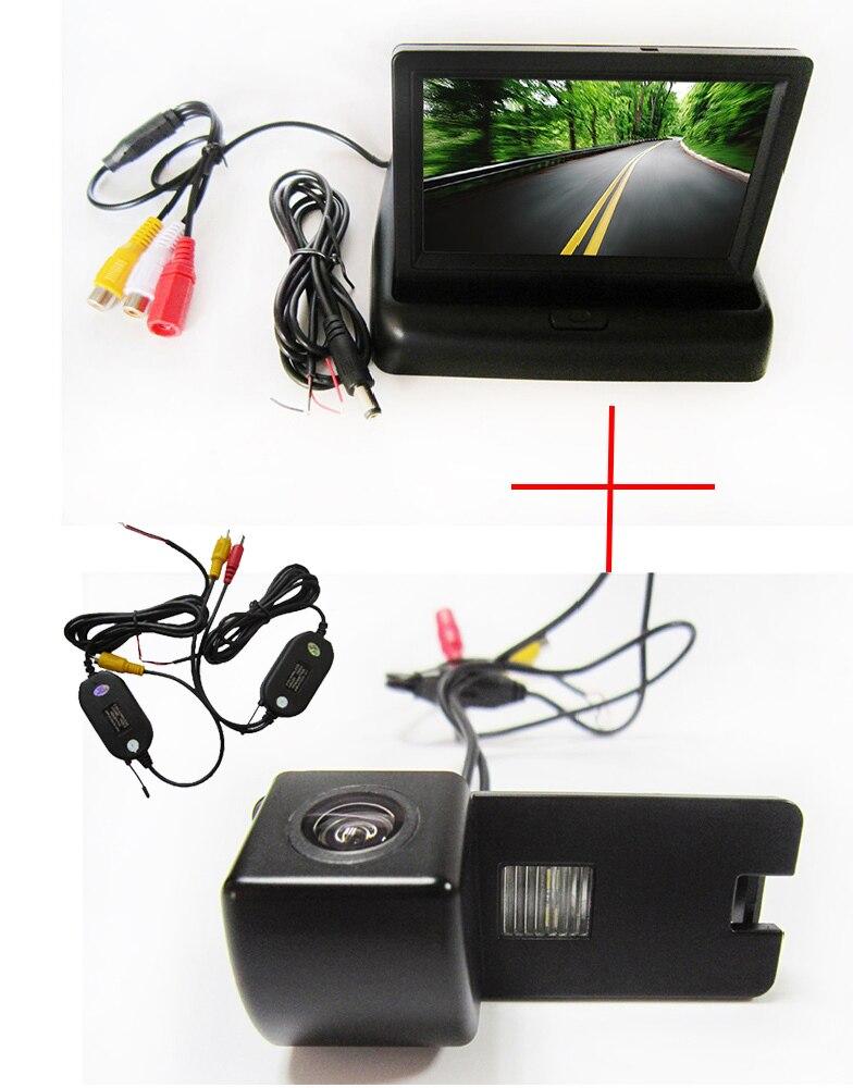 Беспроводной Цвет Автомобильная камера заднего вида для Holden Commodore Holden/Commodore VY VZ VE1, с 4.3 inch Складная ЖК-монитор TFT