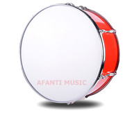 24 Inch Red Afanti Music Bass Drum BAS 1044