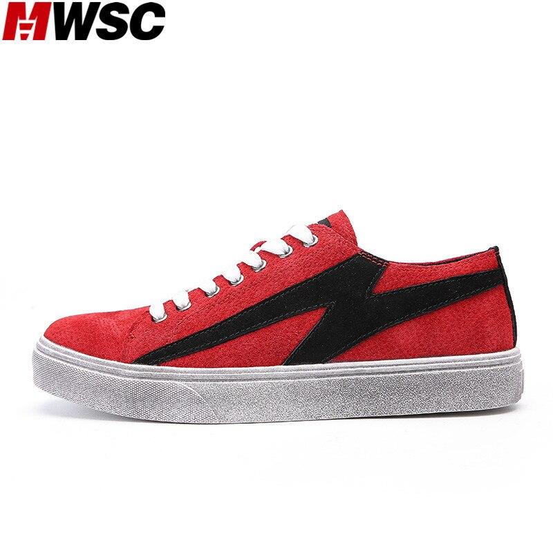 Printemps Chaussures rouge Vintage Mwsc De Conception Style Rétro Casual Mâle Sneaker gris Patchwork Noir Mode Hommes Semelle Spéciale H9IbWYDeE2