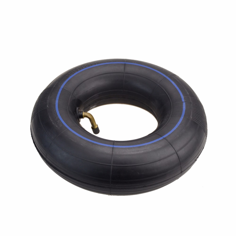 GOOFIT 300-4 Curved Bent Stem Inner Tube Tire for Mini Electric Quad Scooter Q001-011