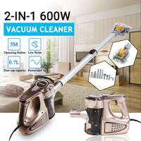 220V Wired Handheld 2 in 1 Home Charging Vacuum Cleaner Cyclone Filter Carpet Sweep Dust removing mites 3.5m Power Cord