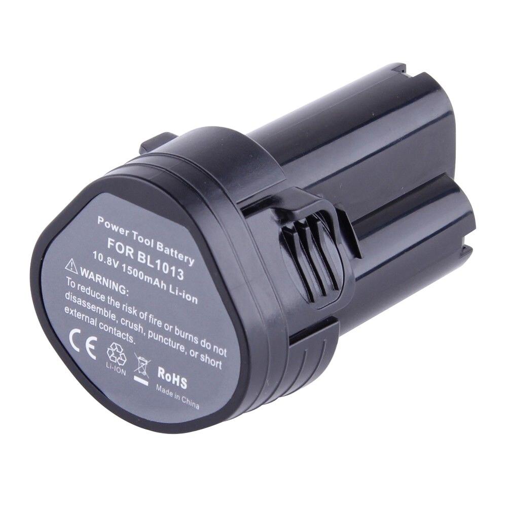 2&#215;10.8 Вольт Li-Ion Батарея для <font><b>Makita</b></font> BL1013 194551-4 194550-6 TD090DW LCT203W