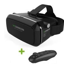 "VR Shinecon VRความจริงเสมือนแว่นตา3DคาดศีรษะO Culus riftหัวหน้าเมา3Dภาพยนตร์เกมสำหรับIPhone/S Amsung 4.7-6 ""มาร์ทโฟน"