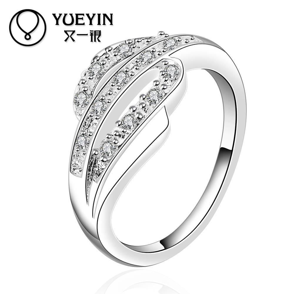 58843466023a Nuevas mujeres accesorios anillo de la joyería Cristal de calidad superior  anillos de dedo para el regalo agradable de la muchacha de las mujeres con