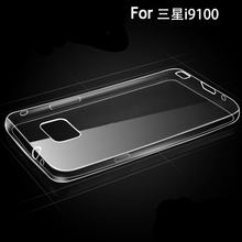Ascromy Ultra Thin TPU Phone Case for Housse Coque Samsung S2 Silicon Case Cover Samsung Galaxy S 2 for Fundas Samsung Galaxy S2(China)