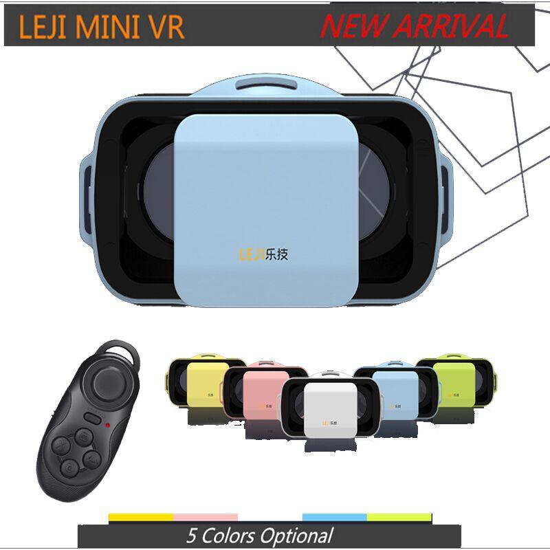 <font><b>VR</b></font> <font><b>BOX</b></font> III 3.0 LEJI Mini <font><b>Virtual</b></font> <font><b>Reality</b></font> Headset 3D <font><b>IMAX</b></font> <font><b>Video</b></font> <font><b>Glasses</b></font> for Movies Games 4.5 - 5.5 inch Phones +remote control