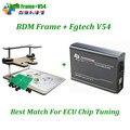 Alta Calidad V54 fg tech fgtech galletto 4 Master v54 + Frame BDM FG Tech BDM-TRICORE-OBD con la función BDM