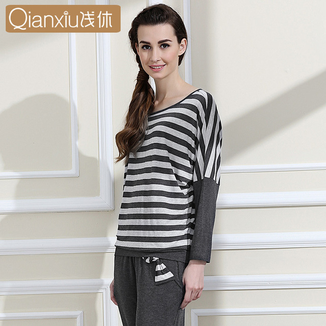 Design women casual pajamas knitted sewing patterns for women plus ...