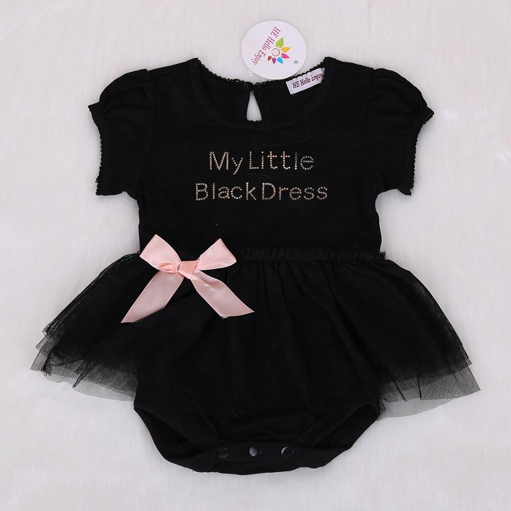 HE-Hello-Enjoy-Baby-girl-dress-wedding-summer-2017-bodysuit-baby-girl-clothes-Letter-short-sleeved-black-dress-vestido-infantil-1