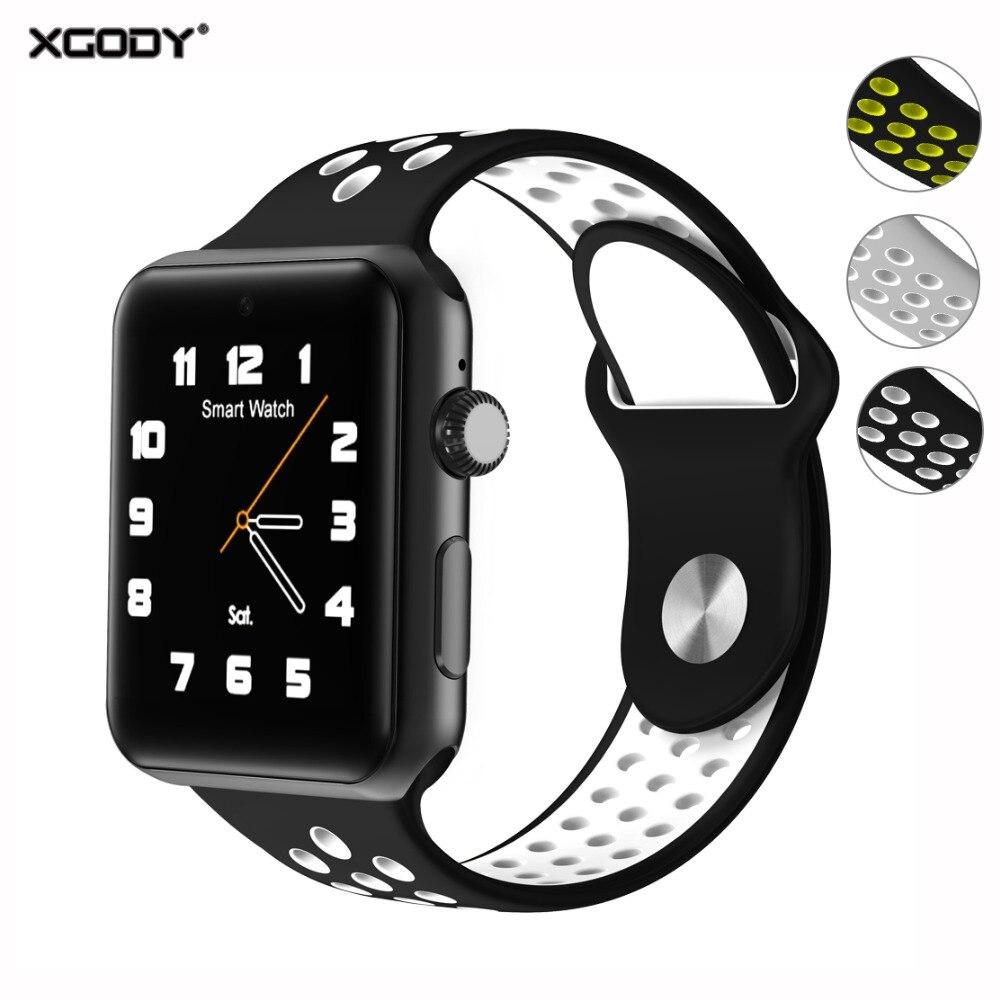 XGODY DM09 Plus montres intelligentes pour enfants hommes femmes Smartwatch connecté Android IOS téléphone Fitness Bracelet avec carte Sim