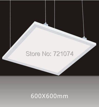 ФОТО suspended led panel 600x600,40W SMD LED Pannel Light with 2400lm Replace 120W Incandlescent Tube,hight power