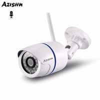 AZISHN Wifi IP Camera 720P 960P 1080P Security Audio Record CCTV Camera Wireless Wired Outdoor Camera With SD Card Slot Yoosee