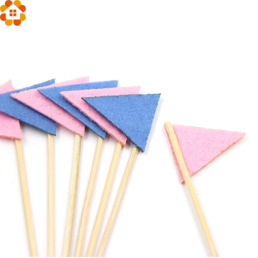 28PCS Mini Flags Cupcake Toppers Cake Topper Picks Party Favors Kids ...