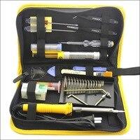 Kostenloser versand 30 Watt Elektrische Löten werkzeug Eisen Solder Tool Kits  qualität diy löten werkzeuge paket kit Physik werkzeuge