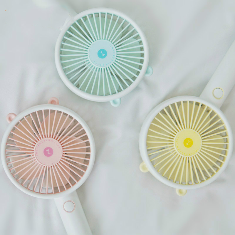 2019 New Cute Bear Mini Desk Fan USB Mini Handheld Fan Portable Fan USB Rechargeable Fan 2000mAh for Office Home Outdoor2019 New Cute Bear Mini Desk Fan USB Mini Handheld Fan Portable Fan USB Rechargeable Fan 2000mAh for Office Home Outdoor