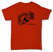 "Amazing turntable cartridge ""My Weapon"" t-shirt"