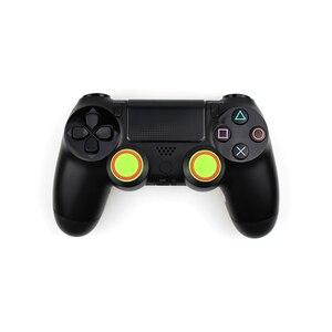Image 3 - 4 sztuk silikonowe analogowe Thumb Stick uchwyty pokrywa dla PS4 kontroler nakładki na palce dla PS4 Pro Gamepad dla Xbox One dla Xbox 360