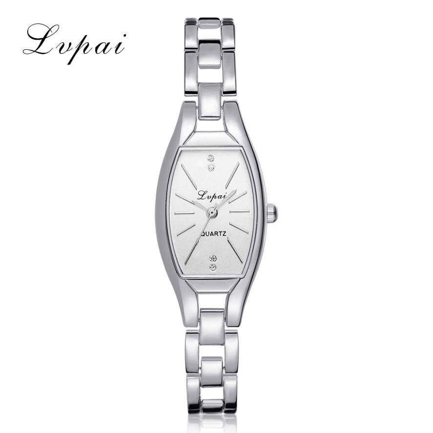 LVPAI Women watches Fashion Woman Stainless Steel Crystal Dial Quartz Crystal stone Bracelet Luxury Wrist Watch lady dress N40 matisse lady austria full crystal dial