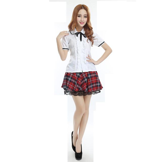 Estilo británico navy marinero Japonés Coreano schoool uniformes Jk estudiantes vestir mujeres hombres Colegio femenino formal de las mujeres vestido de manga corta