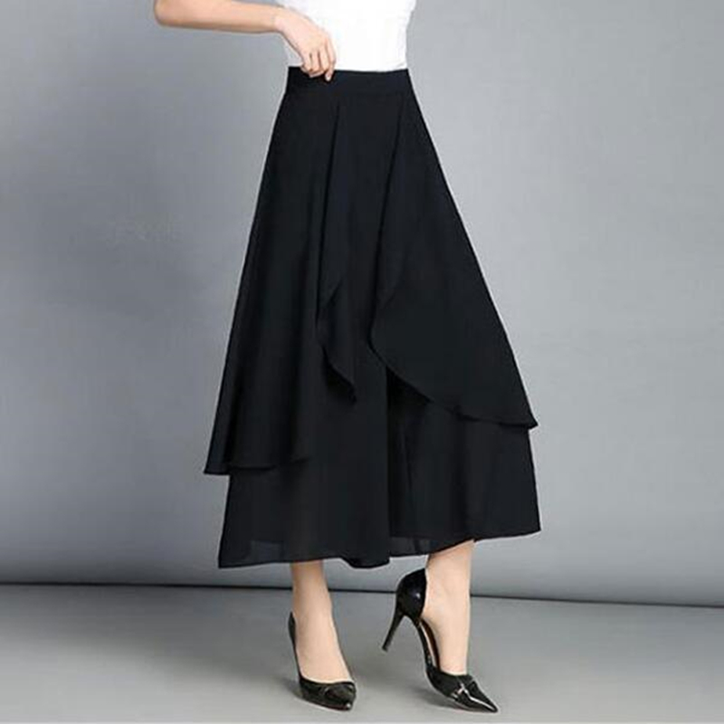 YGYEEG Fashion Women Summer Casual   Wide     Leg     Pants   Solid Color Women Loose Stretch High Waist   Wide     Leg   Long   Pants   New Trousers
