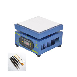 150*150MM stała temperatura ogrzewania tabeli wyświetlacz LED podgrzewania platformy dla telefonów komórkowych naprawa telefonu UYUE 946-1515