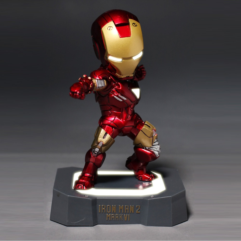 Free Shipping Marvel Egg Attack Iron Man MK6 VI Mark 4 Action Figure Collection Model Toy 8