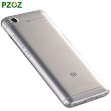 PZOZ Xiaomi Mi5 Case Silicone Cover Original Xiaomi Mi 5 Luxury Transparent Shockproof Phone Soft Shell Xiaomi Mi5 Pro 5.15