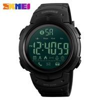 SKMEI uomo Smartwatch Sport orologi digitali APP ricorda Passometer Smart Watch impermeabile compatibile con Bluetooth Reloj inteligente