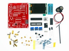 Probador multifuncional GM328, probador de transistores, diodo de capacitancia, medidor de frecuencia de voltaje ESR PWM, generador de señal de onda cuadrada