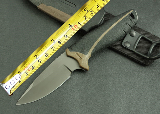 Myth font b Tactical b font Fixed font b Knives b font 5Cr13Mov Blade ABS Handle