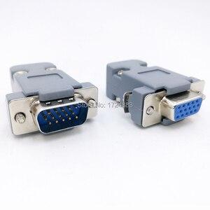 Штепсельный разъем DB15, штепсельный разъем VGA, D, тип, 15-контактный разъем для отверстия, гнездо и штекер, винт для установки + Корпус DP15