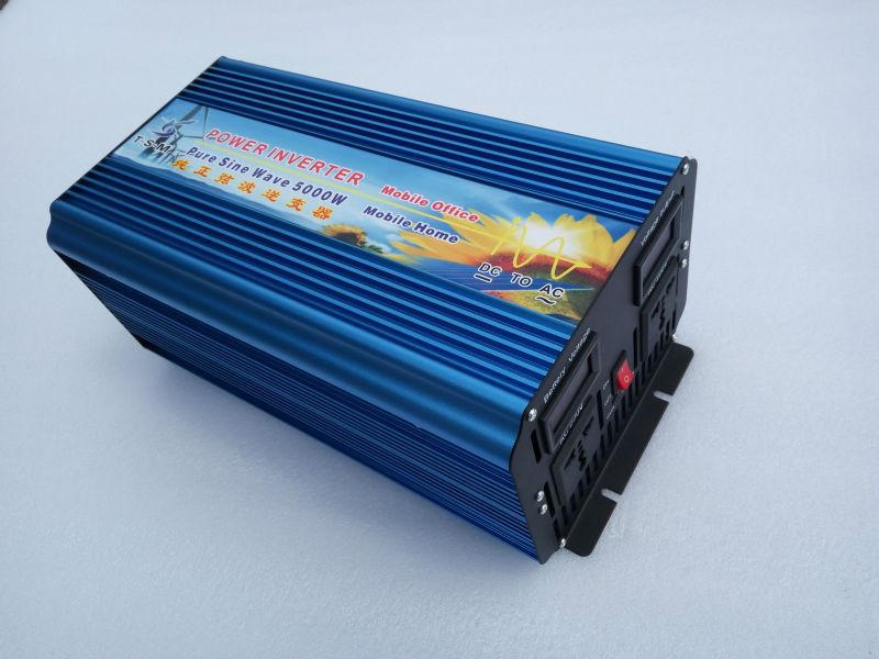 цена на 5000W Inverter onda sinusoidale pura solar power inverter 5KW inverter 12v 220v 5KW 5000W pure sine wave inverter