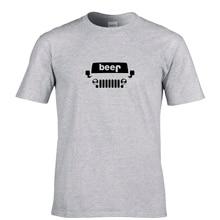 Funny Beer Jeep Men's T-shirt