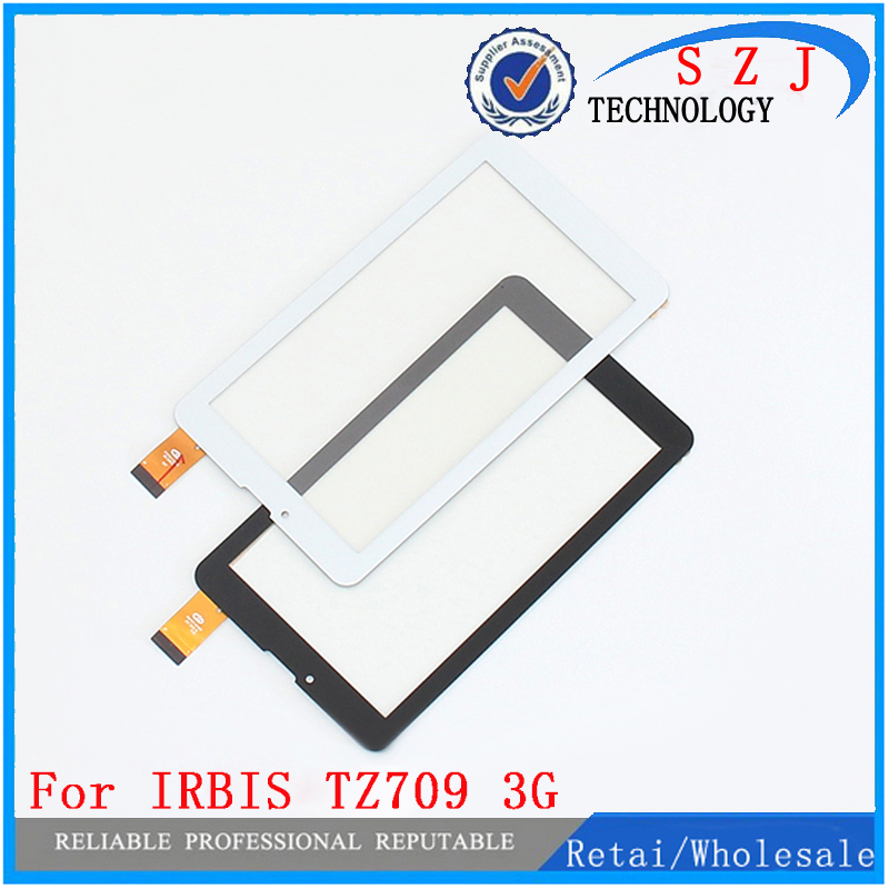 New 7 inch For Irbis TZ709 3G Tablet Touch Screen Panel glass Sensor Digitizer Replacement Free Shipping new 10 1 inch for irbis tz21 tz22 3g black white touch screen tablet digitizer sensor replacement free shipping