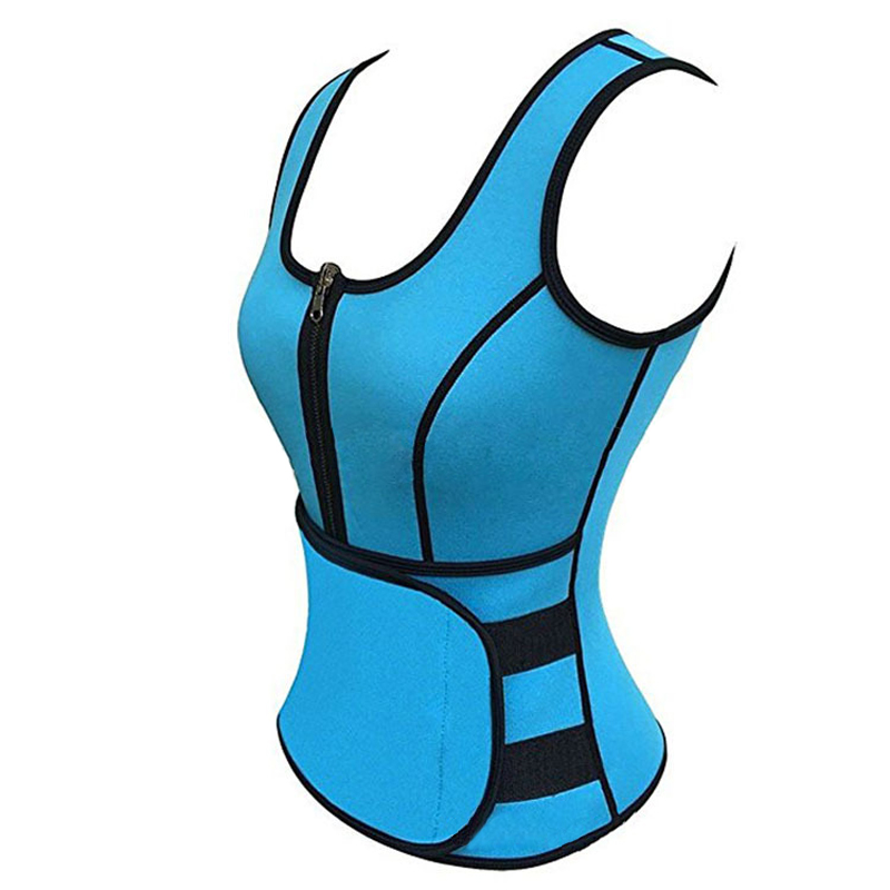Weight Loss Products Neoprene Body Slimming Vest Corset Waist Trainer Women Body Wrap Belly Cellulite Fat Burning Weight Loss
