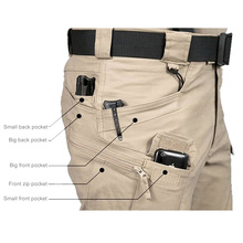 Tactical clothing men cargo pants IX7 military trousers,spring Double Waist Pants Promotion Men Cargo casual military army pants