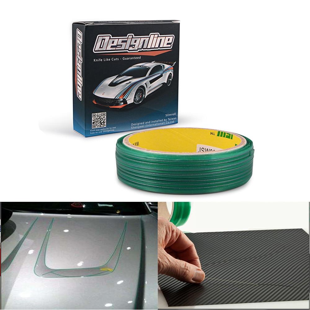EHDIS 50m Wide Knifeless Tape Design Line Vinyl Film Car Wrap Car Stickers Cutting Tool Window Tinting Design Knife Cutter Tape