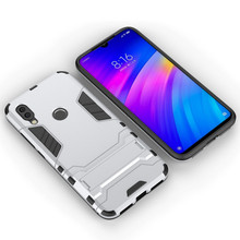 for XIAOMI Redmi note 7 6 5 Pro K20 armored shock-proof mobile phone shell bracket Mobile protective cover