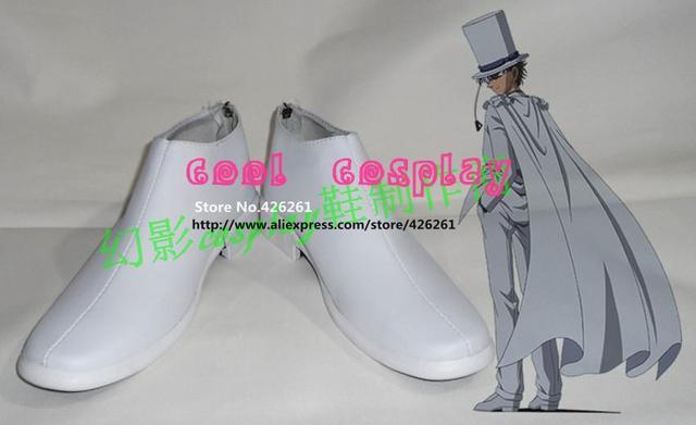Detective Conan Caso Cerrado Kaito Kuroba Kid Ladrón Fantasma cosplay botas zapatos