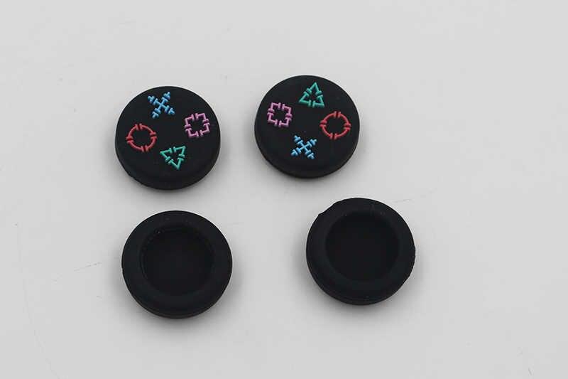 4 pz/set di Alta Qualità 3d Nuovo 3D Tappi Per PS4 Incavi per i pollici Per Il Regolatore Xboxone Joystick Cover In Silicone Per Playstation4 gamepad